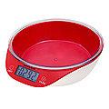10955-1 Весы кухонные КРАСНЫЕ 5кг МВ (х12)