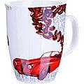 25976-1 LR Кружка 340мл Автомобиль красный (х48)