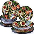 27710 Набор стеклянной посуды 19 пр LR (х2)