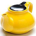 26594-2 Заварочный чайник ЖЕЛТЫЙ 750мл LR (х24)