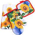 136-001 Набор перчатка+прихватка+полотенце (х72)