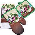 136-005 Набор перчатка+прихватка+полотенце (х72)