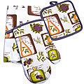 136-006 Набор перчатка+прихватка+полотенце (х72)