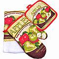 136-007 Набор перчатка+прихватка+полотенце (х72)
