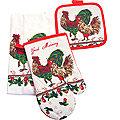 136-010 Набор перчатка+прихватка+полотенце (х72)