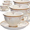 181-068 Чайный набор 12пр 220мл в под/уп (х6)
