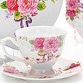 26621 Чайная пара 4пр (чашка180мл+блюдце) LR (х16)