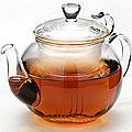 24937 Заварочный чайник стекло 600мл с/кр МВ (х16)