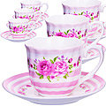 25956 Кофейный набор 12пр (чашка+блюдце) LR (х12)