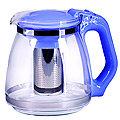 29949-1 Чайник заварочный син1,5 л стекло MB (х24)