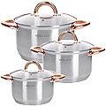 28813 Набор посуды 6пр 2+2,5+3,5 л MB (х4)