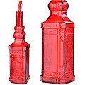 28194-3 Бутылка для масла 1000 мл стекло КРАСНЫЙ LR (х12)