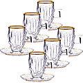 27647 Чайный набор стекло 12пр 100мл LR (х6)