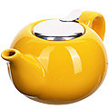 28680-1 Заварочный чайник керамика ЖЕЛТЫЙ 800 мл LR (х24)