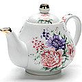 24562 Заварочный чайник 1000мл с/кр керам LR (х12)