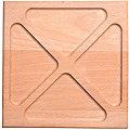 40393776 Менажница квадрат 25*25*2.5 см MB (х5)