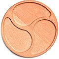 40393876 Менажница круг 3 секции 25*2.5 см MB (х5)