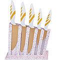 22715 Набор ножей 5 пр на подставке сил/р МВ (х6)