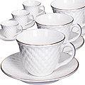 26507 Чайный сервиз 12пр 200мл в под/упак LR (х8)
