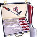 29765 Набор ножей в чемодане 8 пр MB (х8)