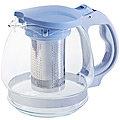 29717-1 Чайник заварочный син 1,5 л стеклоMB(х24)