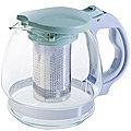 29717-2 Чайник заварочный зел 1,5 л стеклоMB(х24)
