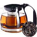 29947 Чайник заварочный чер700 мл стекло MB (х36)