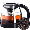 29953 Чайник заварочный 1,8 л стекло MB (х24)ЧЕРНЫЙ