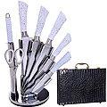 30580-29764 Ножи в чемодане 8пр + подставка MB(х1)