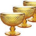 30851 Набор креманок 300 мл 6 шт ЯНТАРНЫЙ LR (х6)