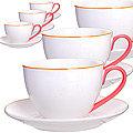 28606 Чайный сервиз 12 пр 220мл в подар/уп LR (х8)