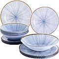 30677 Набор стеклянной посуды 19 пр LR (х2)