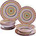 30680 Набор стеклянной посуды 19 пр LR (х2)
