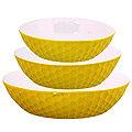 29565 Набор салатниц керамика 3 пр LR (х6)