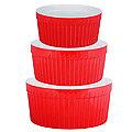 29568 Набор салатниц керамика 3 пр LR (х6)