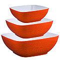 29574 Набор салатниц керамика 3 пр LR (х6)
