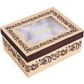 33201 Коробка для чайного сервиза 4пр 21,2х16,7х9,2 см LR (х1)