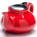26594-1 Заварочный чайник КРАСНЫЙ 750мл LR (х24)
