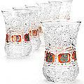 24676 Набор стаканов 6пр 130мл в под/упак LR (х6)