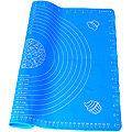 30494-2 Коврик силикон 50х40см. голубой MB (х72)
