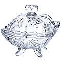 588-055 Сахарница  10см.стекло (х36)