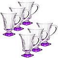 20220 Набор стаканов ФИОЛЕТОВЫЙ 6 предметов LR(х6)