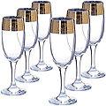 MS419-45 Набор 6ти бокалов д/шампанского 190мл(х4)