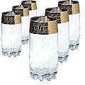 MS812-45 Набор 6ти стаканов д/коктеля 390мл (х4)