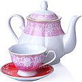 27849 Чайный сервиз 13 пр фарфор 220мл LR (х4)