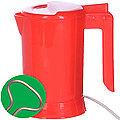 002-К Мини чайник SH красный с теном 0,5л(х36)
