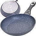 30433 Сковородка 22 см мрам/крошка с руч МВ (х6)