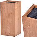 28122 Подставка для ножей бамбук МВ 10,8х10,8х23см (х6)