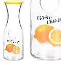 27825-2 Бутылка стеклянная 1 литр ЖЁЛТАЯ LR (х12)