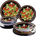 30670 Набор стеклянной посуды 19 пр LR (х2)